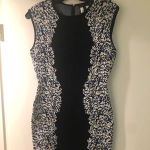 BCBG leopard bandage dress